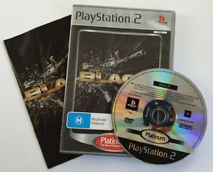 Black for Sony PS2 - AUS PAL - Great Disc & Warranty from AUS Seller