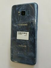 Boost Mobile Samsung Galaxy S8 SM-G950U Blue Unlocked Smartphone G950U Cellphone