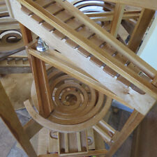 WOOD MARBLE Run MAZE Pyramid Office Daycare Game AMISH HANDMADE Wooden