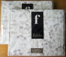 FABLE Oxford Pillowcase Pair ROMILLY AMETHYST New