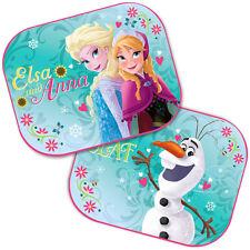 2 X Parasol UV de coche de Frozen de Disney Bebé Niños Niños Visera de ventana 01