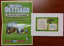 Imperial Settlers Council Promo Expansion - Brand New Unused Mint
