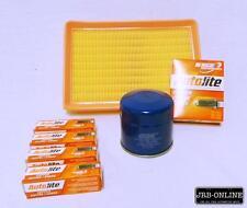 HYUNDAI ELANTRA 1.8L 2.0L PETROL OIL AIR FILTER SERVICE KIT+SPARK PLUGS 00-2007