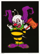 PW0 PRINT IMAGE PHOTO SCARY CLOWN POSTER RARE NEW 16X20 COLLECTOR