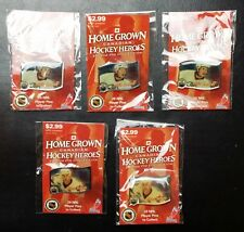 Lot of 5 2003 Home Grown Canadian Heroes Hockey Pins - Eric Brewer & Ryan Smyth
