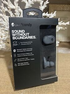 Skullcandy Wireless Bluetooth Earbuds Grey