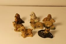Wade Figurines Red Rose Tea Lot of 8 Dogs