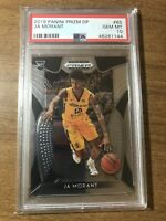 2019 Panini Prizm Draft Picks Ja Morant ROOKIE CARD RC #65 PSA 10 GEM MINT