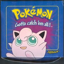 JIGGLYPUFF POKEMON 23K GOLD PLATED BLUE BOX BURGER KING POKEBALL FACTORY SEALED