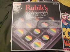 Rubik's Magic Strategy Game COMPLETE Matchbox 1987