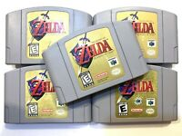 The Legend of Zelda Ocarina of Time NINTENDO 64 N64 Game Tested + Authentic! OEM