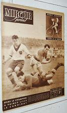 MIROIR SPRINT N°184 1949 FOOTBALL REIMS LOSC RUGBY BOXE CYCLISME SCHULTE OMNIUM