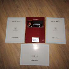 MERCEDES-BENZ W201 190E 1.8 2.0 2.6 190D 2.0 2.5 UK Opuscolo Vendite sul mercato 1991
