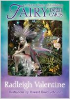 Fairy Tarot cards by Radleigh Valentine Oracle Psychic Guidebook Free Postage