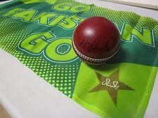 Azhar Ali (Pakistan) signed Red Cricket Ball + COA & Photo Proof