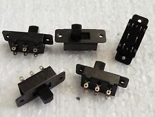 5x DPDT Center OFF Standard Slide switches Models & Railway projects etc CG16