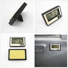 Black Removable Auto Interior Dash Board LCD Digital Display Clock For Off-Road