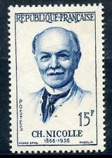 STAMP / TIMBRE FRANCE NEUF N° 1144 * CHARLES NICOLLE / NEUF CHARNIERE