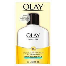 Olay Complete Lotion Moisturizer with SPF 15 Sensitive 4.0oz