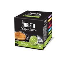 BIALETTI CONFEZIONE DA 16 CAPSULE CAFFE' DEKA GUSTO EQUILIBRATO COFFEE