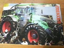 A554 FENDT 1050 VARIO TRACTOR TREKKER POSTER GREEN TREKKER AGRI BOER