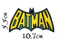 Quality Iron/Sew on Batman logo Patch old school DC Comics joker penguin