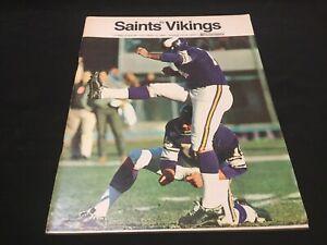 1968 Vikings Vs Saints NFL Illustrated