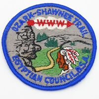 Vintage Ozark - Shawnee Trail Egyptian Council Boy Scout Patch OA WWW