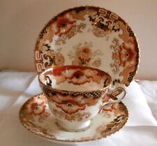 Samuel Radford Imari Porcelain Gilded Trio Mini Tea Set  ca1891-1900 Reg 390220
