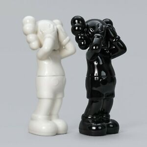 KAWS Holiday UK Ceramic Black & White Containers Set (Edition of 1000) *IN HAND*
