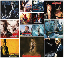 Huge laminated choice of ACTION MOVIES A4 Posters | Photo Print Film Cinema Art
