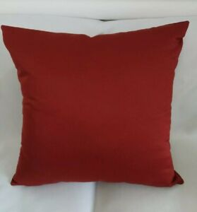 """Red Cushion Covers /Complete Cushions  24"""" 26""""  Set Of 2"""