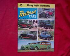1975 Restored Cars Magazine Australia Issue 9 Willys Essex Plymouth Model A Ford