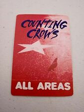 Counting Crows All Areas Backstage Concert Pass