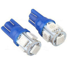 2 pieces Super Blue T10 LED LICENSE PLATE TAG LIGHT BULBS 10-LED SMD