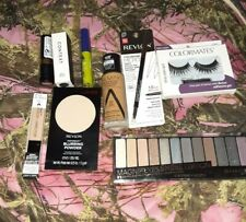 New makeup lot 9 items Eyeshadow Palette,eyeliner,powder,f oundation,lashes ect