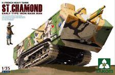 Takom (三花) 1/35 St. Chamond French Heavy Tank (Early) #2002  *New*Seald*