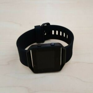 Fitbit Blaze Smart Watch Fitness Activity Tracker All Black - Large *NO CHARGER*