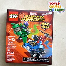 *NEW* LEGO Spider-Man vs. Green Goblin Mighty Micros Spiderman Copter Glider