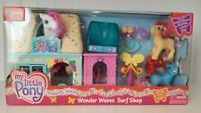"""MLP G3 My Little Pony Butterfly Island """"Wonder Waves Surf Shop"""" with Guava Lava"""