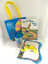 Oh The Places You'll Go! Hc Book, Double-Sided Dry Erase Board Book Bag & Cup