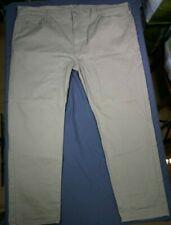 NEW Levi's 502 Regular Taper Fit Men's Beige Khaki Jeans Big & Tall Size 48x34