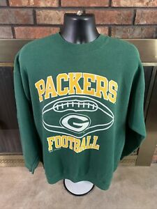 Vintage Green Bay Packers NFL Football Crewneck Sweatshirt Mens Size XL Champion