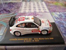 New ListingMiniature car ixo 1/43 citroen xsara wrc # 26 rally monte carlo 2006