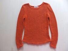 100% Kaschmir IRIS von ARNIM wNeu Gr. 36/38 Orange Luxus 4 fadig Cashmere