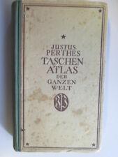 Acceptable - Justus Perthes Taschenatlas der ganzen Welt - unbekannt 1943-01-01