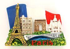 Magnet Aimant Frigo Cuisine Souvenir France Paris Cadeaux Monument 7 x 6cm MG48