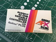 1 Aurora AFX RUSSKIT 60 OHM Slot Car Hand CONTROLLER Variable Speed  1436