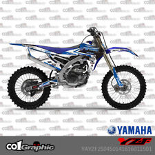 GRAPHICS DECALS STICKERS FULL KIT FOR YAMAHA YZF250/450 2014-2017