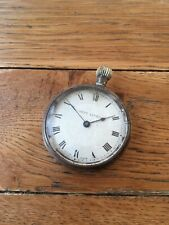 Wind Open Face Pocket Watch 50Mm Antique 'Best Lever' Base Metal Keyless